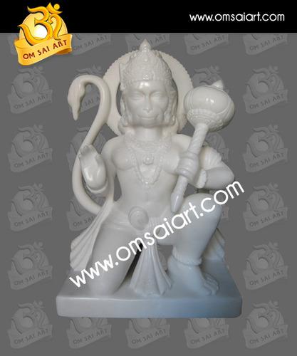 Bajrang bali Marble Statue