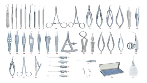 Extracapsular Caratract Extraction Set
