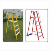 Fiberglass Self Supported Platform Ladder