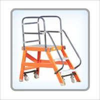 Fiberglass Maintenance Platform Ladder
