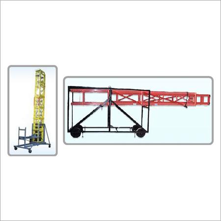 Fiberglass Mobile Telescopic Tilting Ladder
