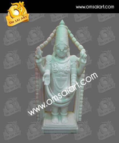 White Marble Tirupati Moorti