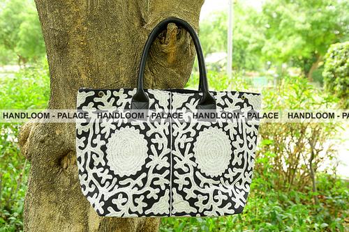 Suzani Embroidered Handbags