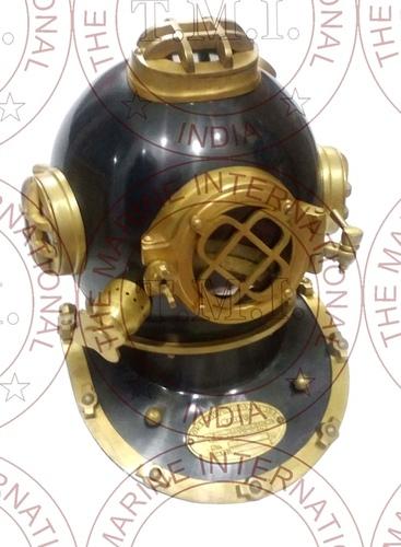 Black Antique Diving Helmet Mark V