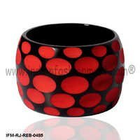 Flirtatious Bagatelle - Resin Bangle