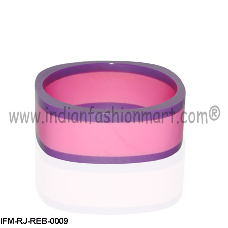 Vibrant Celebration - Resin Bangle