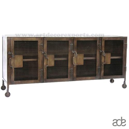 Industrial Metal Sideboard