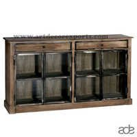 Wood Metal Sideboard