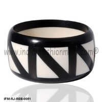 Pious  zigga zigga-  Resin Bangle