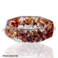 Colloquy Rose - Resin Bangle