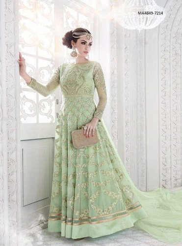 Georgette long Salwar suits
