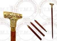 Brass Design Walking Stick