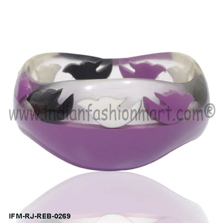 Passion Floaters - Resin Bangle