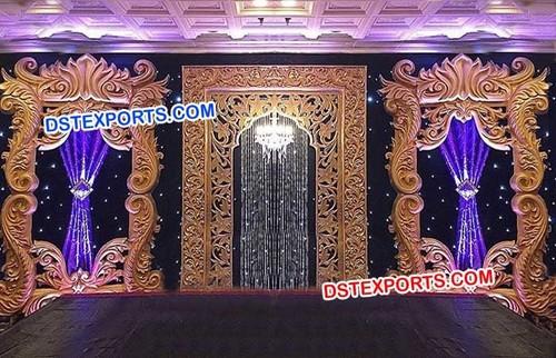 Reception Stage Backdrops Frames