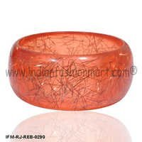Solar Streaks - Resin Bangle