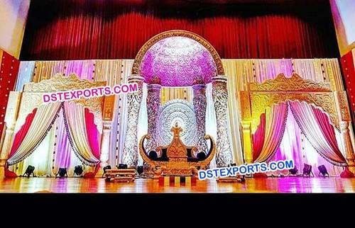 Royal Wedding Mandap Set