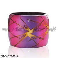 Fluorescent Twinkle - Resin bangle