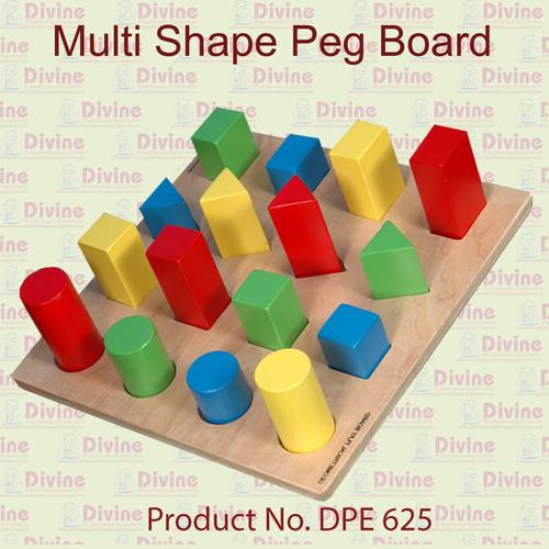Multi Shapes Pegboard