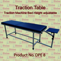 Traction Table with Height Adjustable Traction Bed