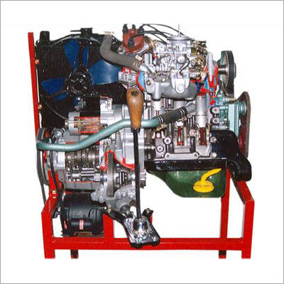 Maruti 800cc Car Engine Working Model