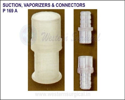 SUCTION VAPORIZERS & CONNECTORS (Hose mounts)
