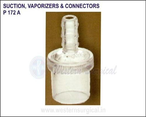SUCTION VAPORIZERS & CONNECTORS (plug - in Mounts)