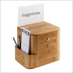 Wooden Suggestion Box