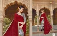 Georgette Traditional Saree