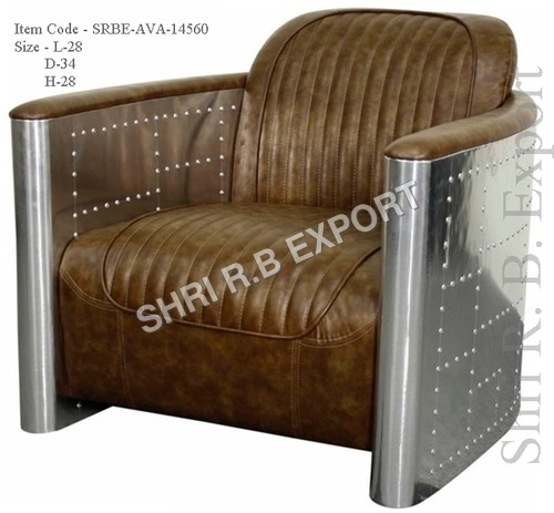 Aviator Brown Sofa Chair