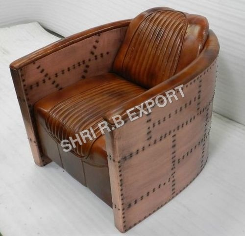 Aviator Copper Sofa Chair