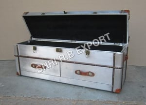 Aviator Coffee table with Trunk