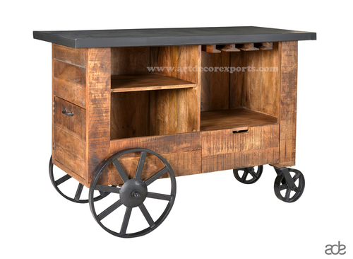 Reclaimed Wood Trolley