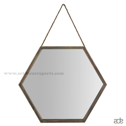 Hex Mirror Frame