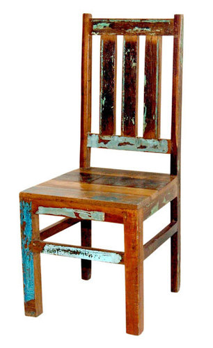 Flashback Theme Old Age Wood Chair
