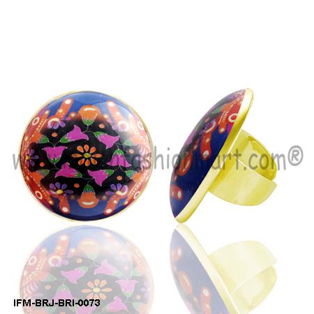 Gleeful Rangoli - Brass Ring