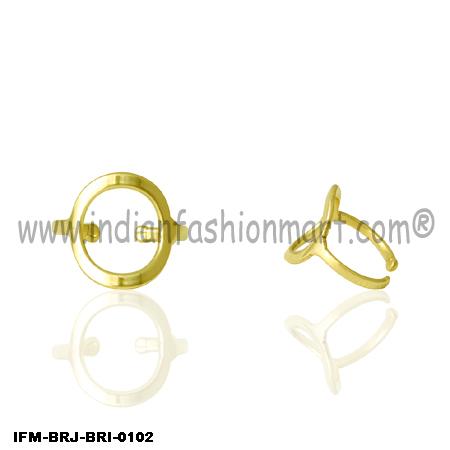 Trendy  Compeer - Brass Ring
