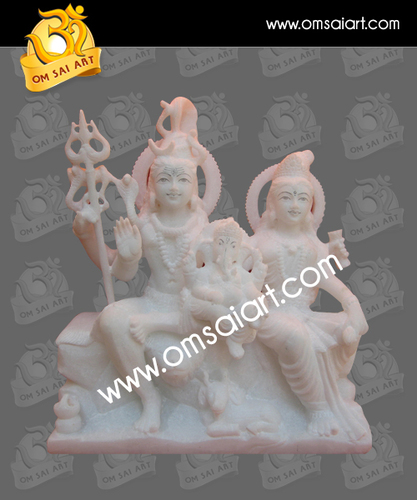God Shiva Family Statue