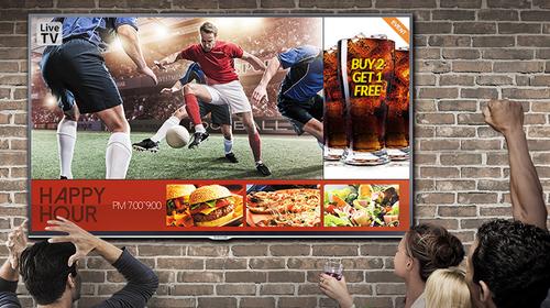 Smart Signage TV for Business