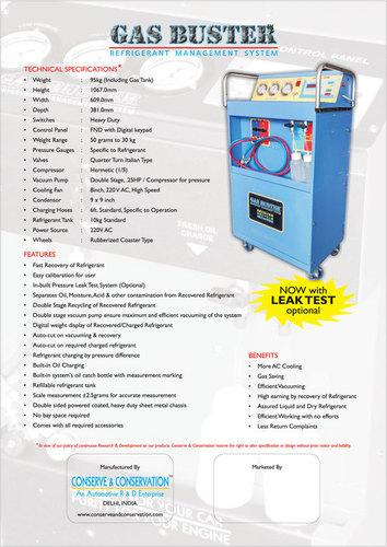 CAR AC SERVICE MACHINE