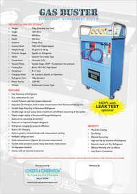 CAR AC SERVICE MACHINE