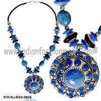 Envy on Fire -Resin Necklace