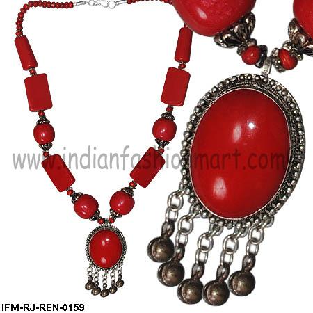 Debonair Tinkle Bells - Resin Necklaces