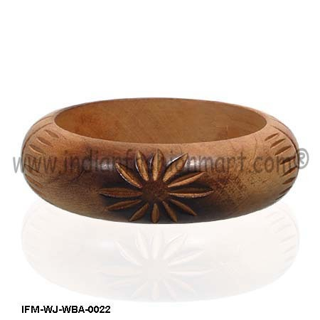 Antiquarian Enigma  -Antique Wooden Bangle