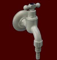 Garden Tap PVC T handle