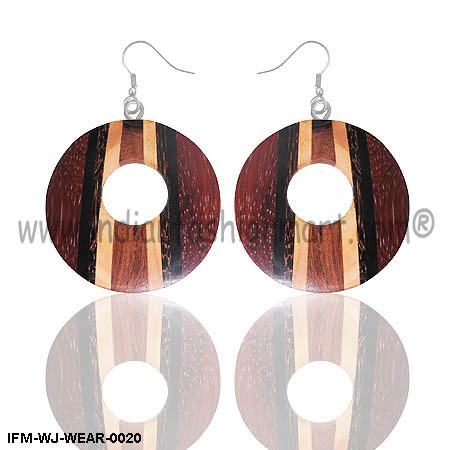 Candid Union  - Wooden Earrings