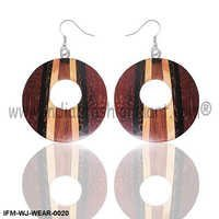 Candid Union  - Wooden Earrings
