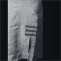 Linen Grey Formal Midi