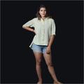 Linen Florescent Stripe Shirt