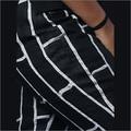 Linen Black Patch Pant