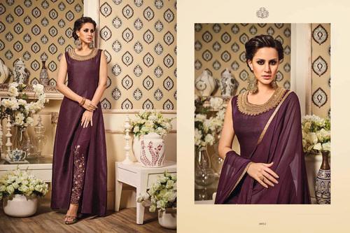 Fancy silk Gown
